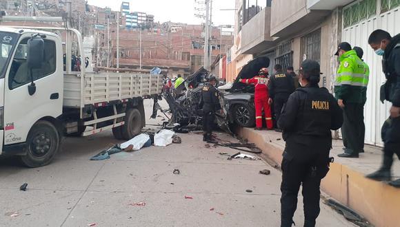 El accidente fue en la ciudad de Puno.