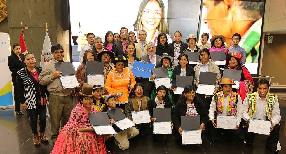 Evaluadores  de expertos en lenguas indígenas u originarias fueron certificados