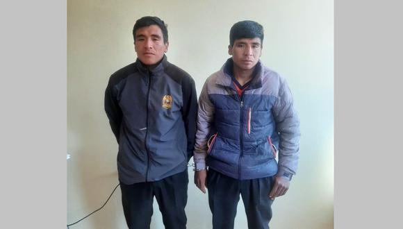 Los detenidos fueron trasladados hasta la dependencia policial. (Foto: Difusión)