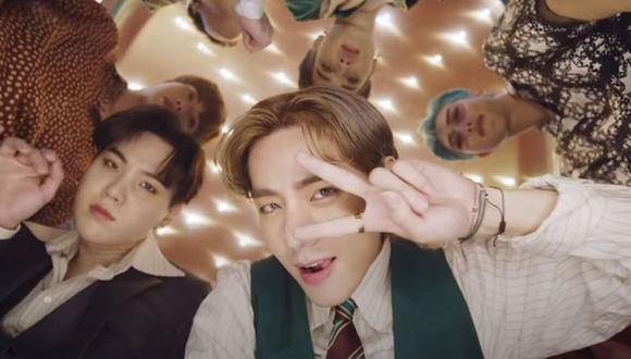 BTS está integrada por siete jóvenes artistas: Jin, J-Hope, Jimin, Suga, Jungkook, RM y V. (Foto: Captura de YouTube)