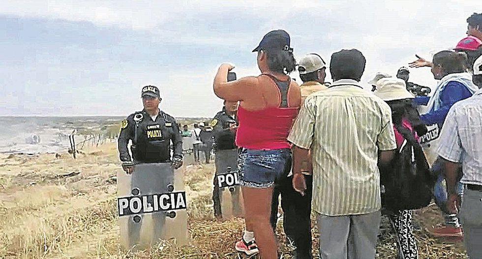 Denunciaron que policías apoyaban a presuntos usurpadores
