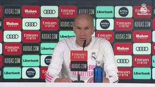"""Zidane: """"Ninguno es favorito en un derbi"""""""