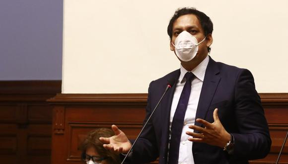 "Luis Valdez: ""Congresistas de APP firmaron moción de vacancia por fallas de comunicación interna"" (Foto: Congreso)"