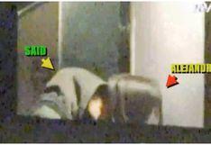 Alejandra Baigorria es captada besándose con Said Palao en su departamento (VIDEO)