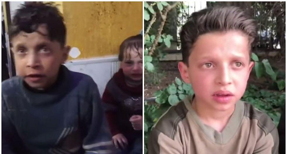Siria: Testimonio de niño sirio revelaría que ataque químico fue montaje (VIDEO)