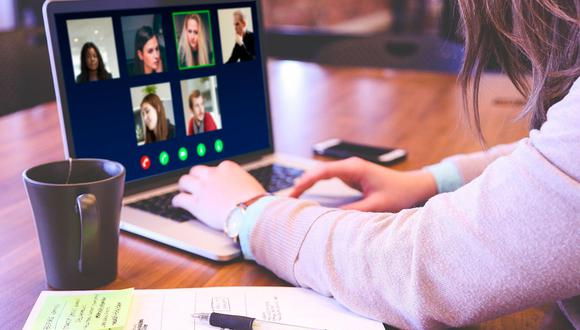 La Universidad de Stanford realizó un estudio donde identificó la 'fatiga de Zoom', como se le llama al estrés adicional que generan las videoconferencias. (Foto: Pixabay)