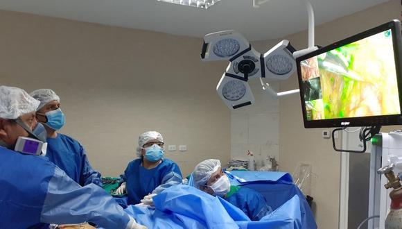 Médicos oncólogos de IREN Norte operaron a paciente con cáncer de endometrio proveniente de la región San Martín.