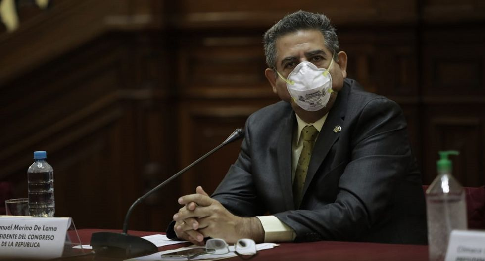 """Manuel Merino lamentó """"el espacio y tiempo"""" que tomó acuerdo entre Ejecutivo y clínicas  (Foto: Anthony Niño de Guzmán/ GEC)"""