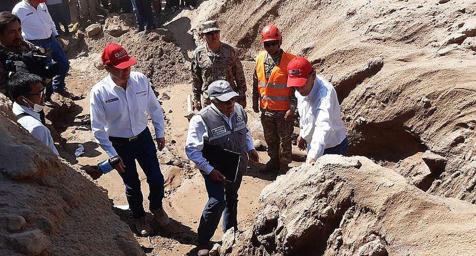 Presidente Vizcarra anunció desvió de cauce en Quebrada del Diablo