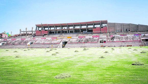 Estadio Guillermo Briceño Rosamedina estará listo en junio