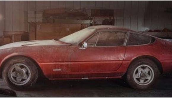 Ferrari: estuvo oculto por 40 años y ahora vale 2 millones de dólares (FOTOS)