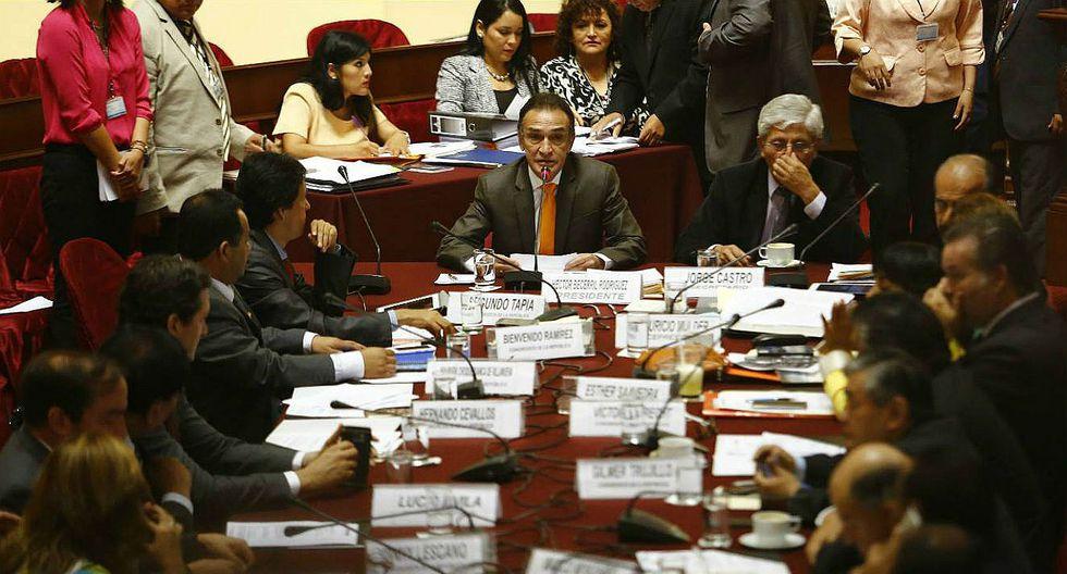 Comisión de Fiscalización acuerda interrogar al presidente PPK en Palacio de Gobierno