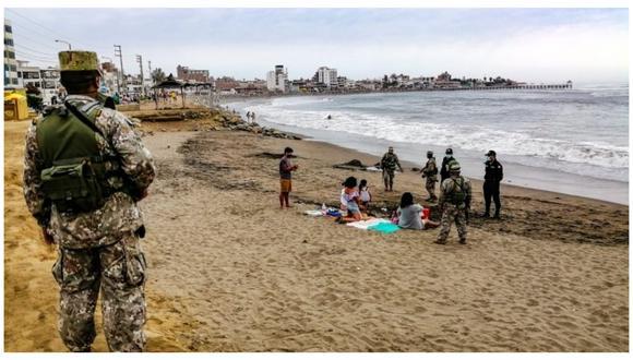 Desde este 1 de marzo se reapertura el ingreso a los balnearios del norte del país. El alcalde de Huanchaco, Estay García, recomendó a los pobladores a seguir cuidándose del coronavirus.
