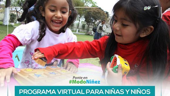 Programa Juguemos Remoto inicia en marzo para niños de Socabaya
