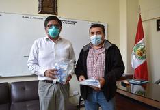 Ventiladores de uso personal entregó la Diócesis a hospitales