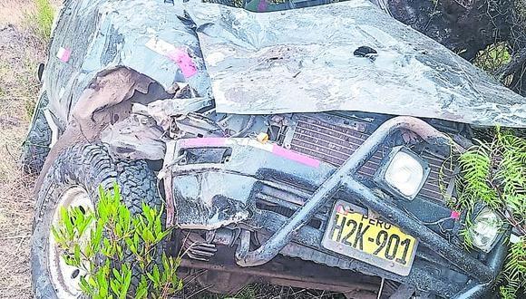 Este lamentable hecho se registró la madrugada de ayer en el distrito de Pomabamba, en la sierra de Áncash.
