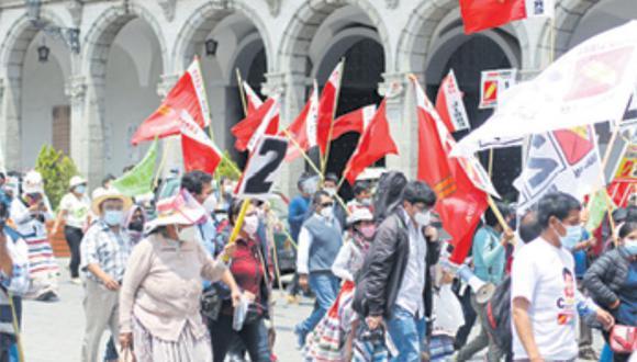 María Agüero de Perú Libre fue la congresista electa con más aportes económicos para su carrera electoral. (Foto: Correo)