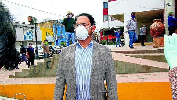 Gobernador regional de Junín anuncia brigadas para detectar casos de COVID-19