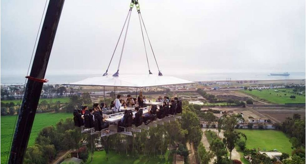 """Restaurante que """"flota"""" en el cielo llegará este verano a Lurín (VIDEO)"""