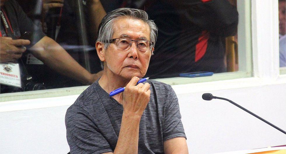 El Instituto de Medicina Legal evaluó hoy a Alberto Fujimori en clínica local