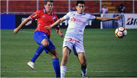 Copa Libertadores: Real Garcilaso empató 0-0 con Nacional en el Cusco (VIDEO)
