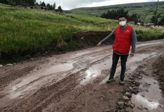 Caminos vecinales son un desastre en provincia de Huancavelica