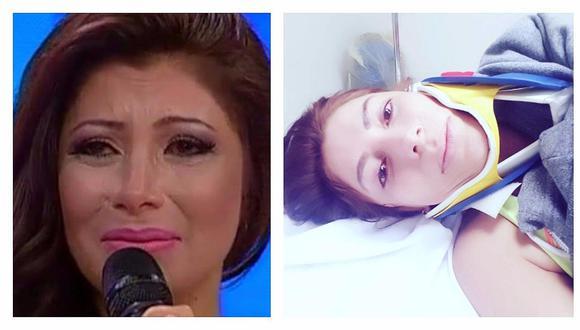 Milena Zárate habla por primera vez tras su accidente en ensayo de 'El Gran Show'