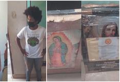 Policía Nacional del Perú detecta nueva forma de tráfico de drogas utilizando imágenes religiosas