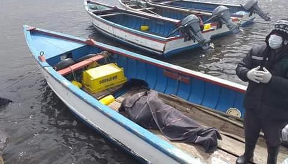 Un pescador artesanal fue el encargado de encontrar el cadáver Foto: Abad Vizcarra