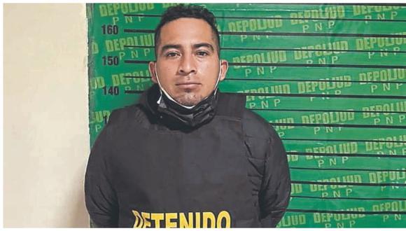 Denis Marchena Zúñiga fue intervenido en la urbanización Los Cipreses y estaría implicado en la muerte de su expareja.
