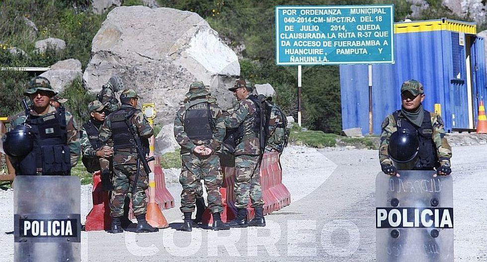 Minera Las Bambas reduce expectativas de producción para el año tras conflicto