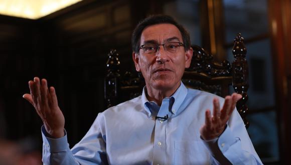 El expresidente Martín Vizcarra ha acudido a responder ante la fiscalía por presuntos cobros de coimas del 'Club de la Construcción'. (Foto. GEC)