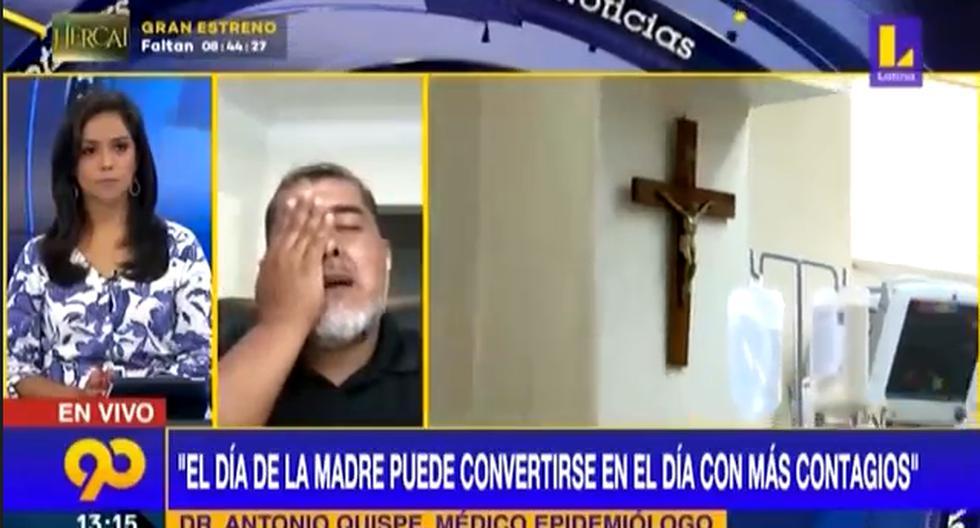 """Antonio Quispe arremete contra el Gobierno por el COVID-19: """"Somos el objeto de burla de los países civilizados"""" (VIDEO)"""