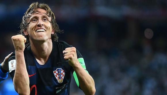 Luka Modric fue elegido como mejor jugador UEFA de la temporada 2017-2018