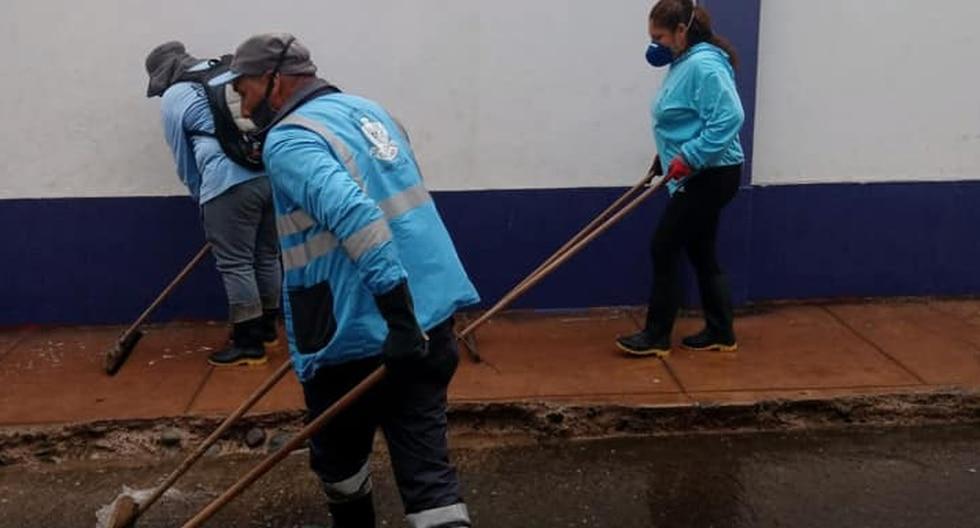 La empresa indicó que la muerte de este trabajador debe servir como ejemplo para que los vecinos respeten la cuarentena. (Foto: ESLIMP Callao)