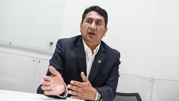 Exgobernador Vladimir Cerrón deberá dar su declaración ante el fiscal Luis Cárdenas el próximo 21 de junio. (Foto: Paco Sanseviero Koffler/ El Comercio)