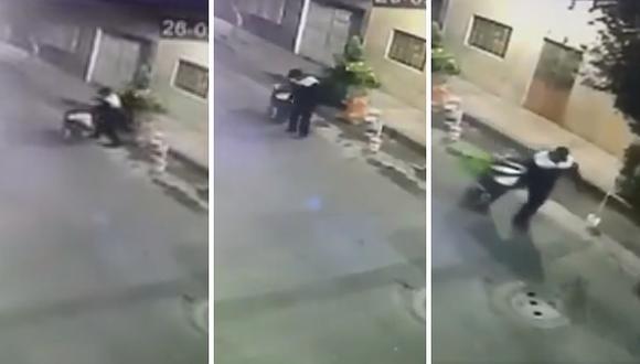 Captan a hombre retirando el cuerpo de mujer a la que mató y descuartizó (VIDEO)