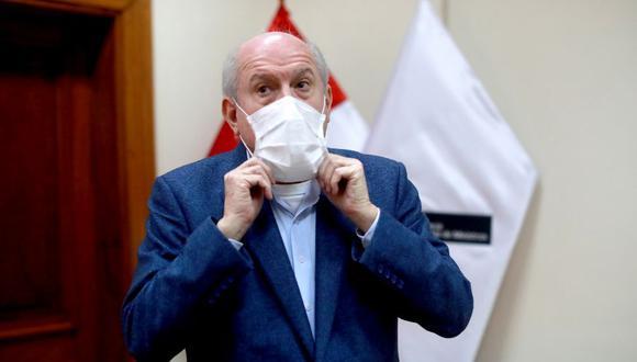 Ex primer ministro Pedro Cateriano. Foto: Lino Chipana Obregón.