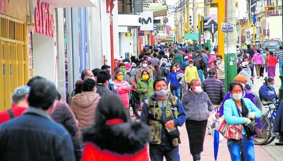 Se trata de Chanchamayo, Satipo, Tarma, Yauli, Concepción y Jauja, donde los domingos hay inmovilización obligatoria.