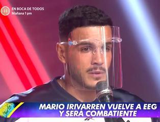 """Mario Irivarren regresó a """"Esto es guerra"""" y pidió disculpas por escándalos que protagonizó"""