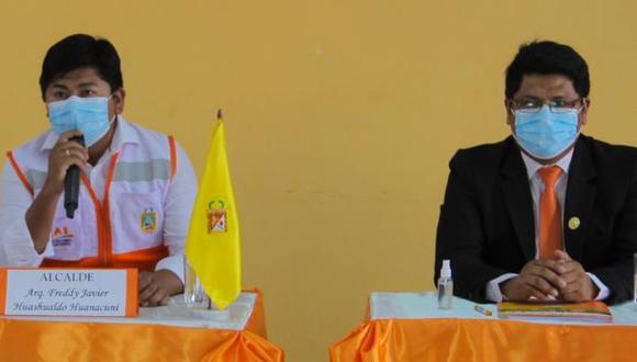 El alcalde distrital Freddy Huashualdo Huanacuni modificó el clasificador de cargos para designar a Wilson López Choque como gerente municipal.