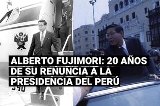 Hace 20 años Alberto Fujimori renunció a la presidencia vía fax