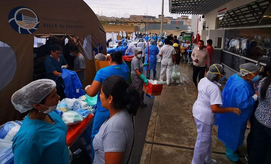 Hospital VES (Foto: Carlos Michilot)