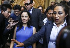 Poder Judicial evaluará si envía a la cárcel a Nadine Heredia