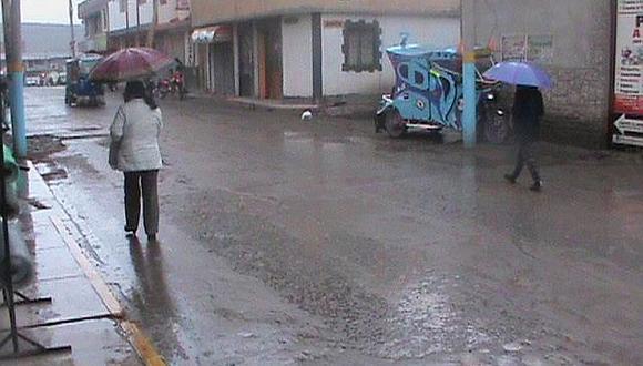 Senamhi alerta sobre lluvias y granizo en la zona alta de arequipa