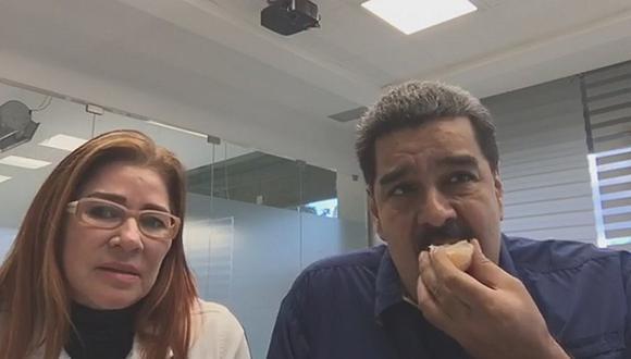 Nicolás Maduro recibe ola de insultos en su primera transmisión en Facebook Live (VIDEO)