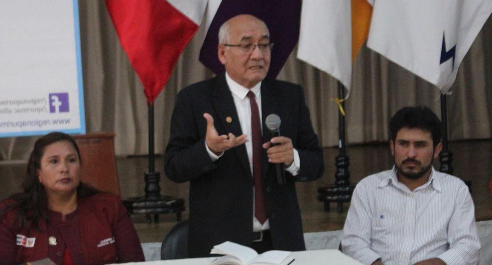 Dictan prisión preventiva para rector de la Unamba Adolfo Prado y exasesor Mario Arroyo