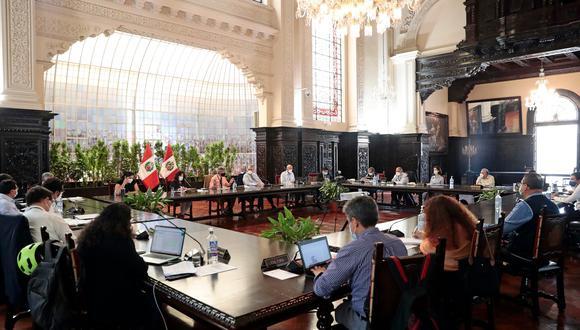 La presentación de integrantes del Ejecutivo se realizará  en la Sala Acuerdo Nacional, sede de la Presidencia del Consejo de Ministros (PCM). (Foto: Presidencia)