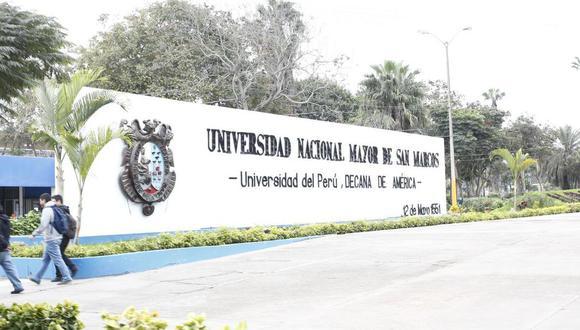 Cancelan elecciones de rectore y vicerrectores en la Universidad Nacional Mayor de San Marcos. Foto: Andina