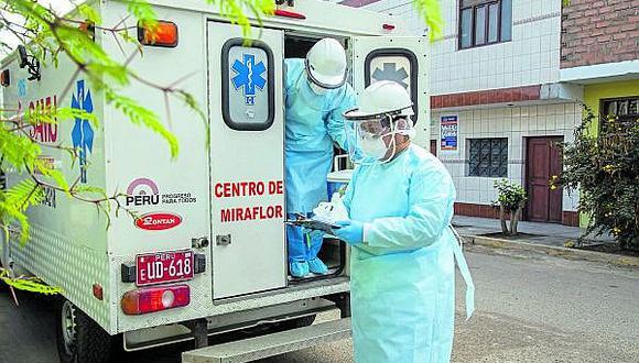 Chimbote: Médicos acatarán paro por EPP  y contratos